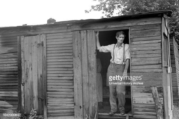 Dweller in Hooverville Circleville Ohio USA Ben Shahn US Resettlement Administration July 1938