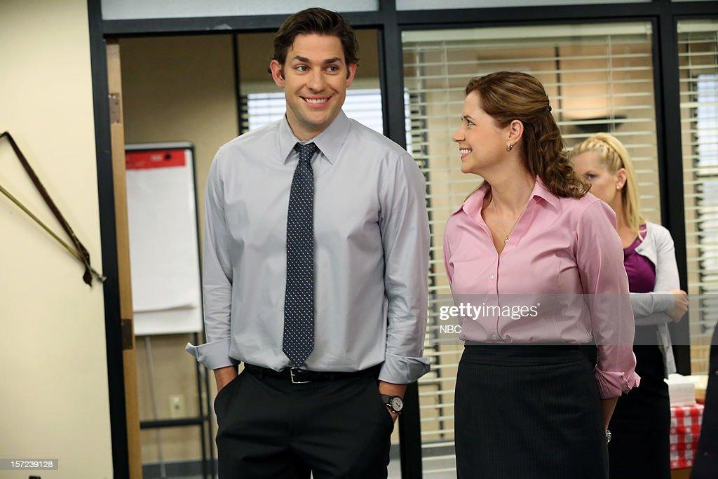 the office season 9 news photo - The Office Dwight Christmas
