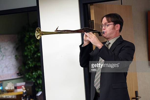 THE OFFICE Dwight Christmas Episode 910 Pictured Rainn Wilson as Dwight Schrute