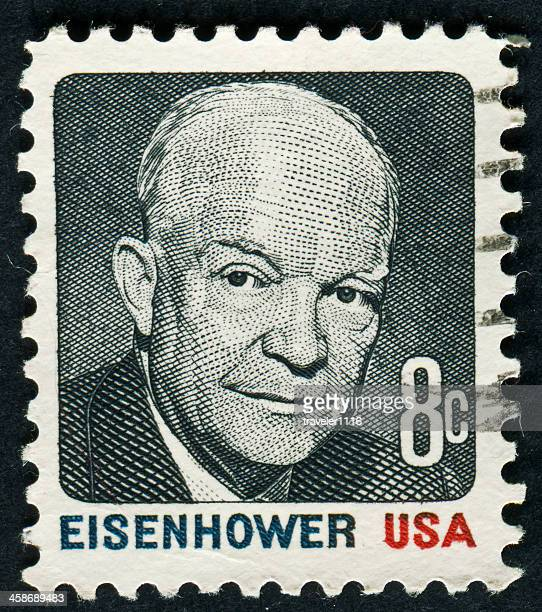 dwight d. eisenhower - dwight eisenhower stock pictures, royalty-free photos & images