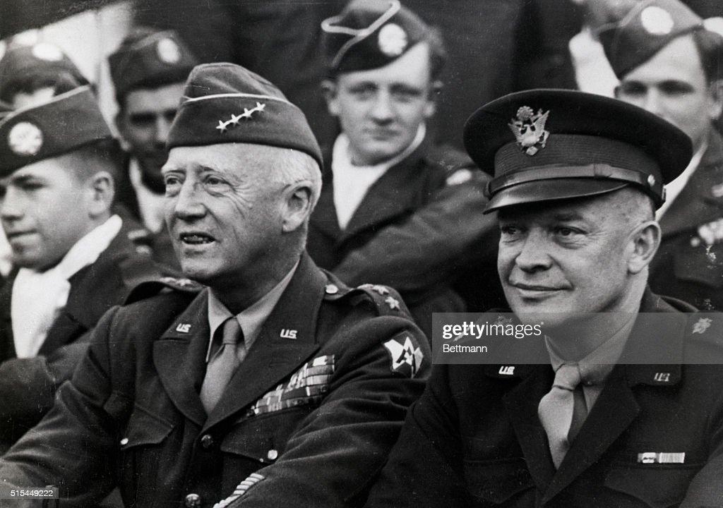 Patton And Eisenhower
