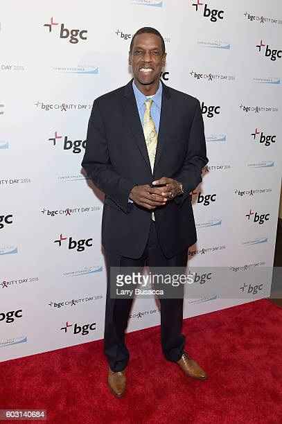 Dwight 'Doc' Gooden attends Annual Charity Day hosted by Cantor Fitzgerald BGC and GFI at BGC Partners INC on September 12 2016 in New York City