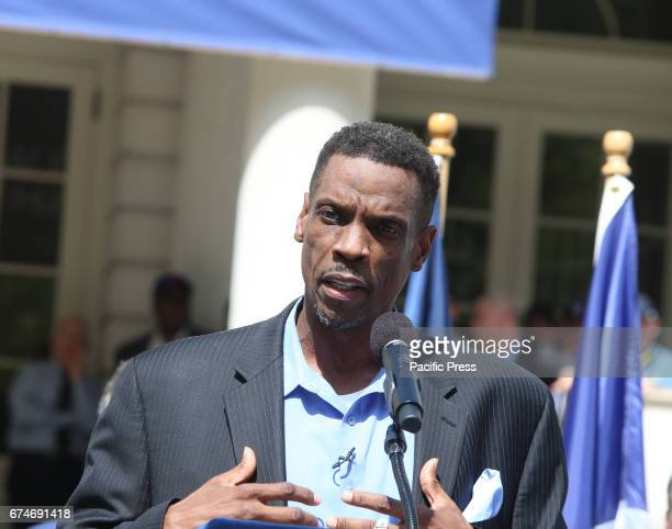 Dwight 'Doc' Gooden speaks to fans after receiving award Gooden who has long struggled with alcohol cocaine addiction had been incapacitated unable...