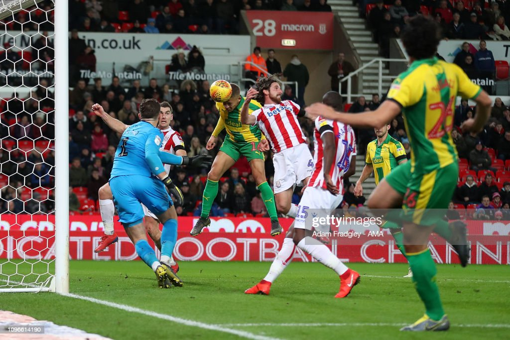 Stoke City v West Bromwich Albion - Sky Bet Championship : News Photo