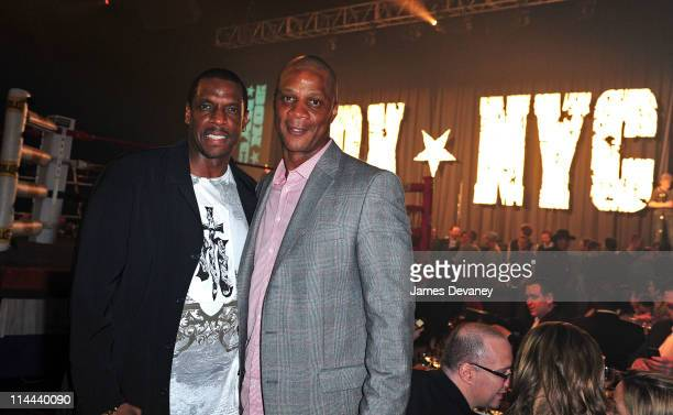 Dwight Gooden and Darryl Strawberry attend the 6th Annual BOX NYC at Roseland Ballroom on May 19 2011 in New York City