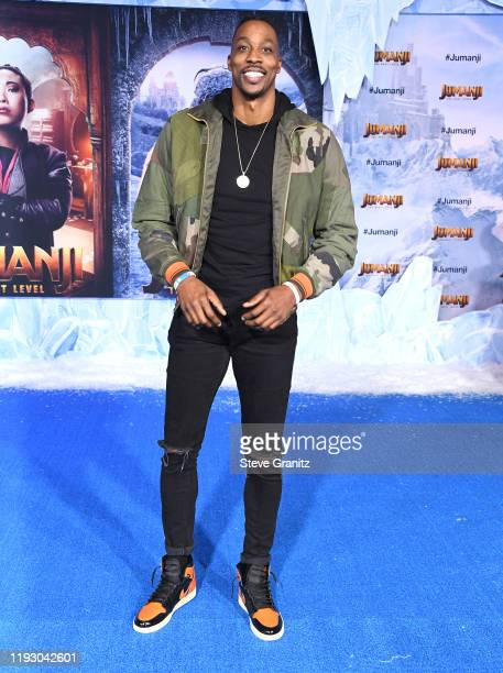 Dwight Howard arrives at the Premiere Of Sony Pictures' Jumanji The Next Level on December 09 2019 in Hollywood California