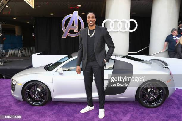 Dwight Howard attends Audi Arrives At The World Premiere Of Avengers Endgame on April 22 2019 in Hollywood California