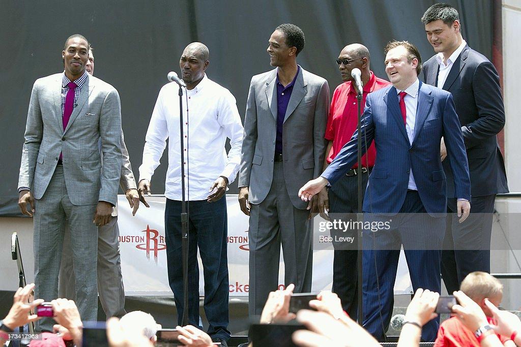 Houston Rockets Introduce Dwight Howard