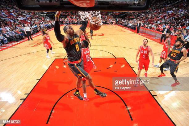 Dwight Howard of the Atlanta Hawks dunks against the Houston Rockets on February 2 2017 at the Toyota Center in Houston Texas NOTE TO USER User...