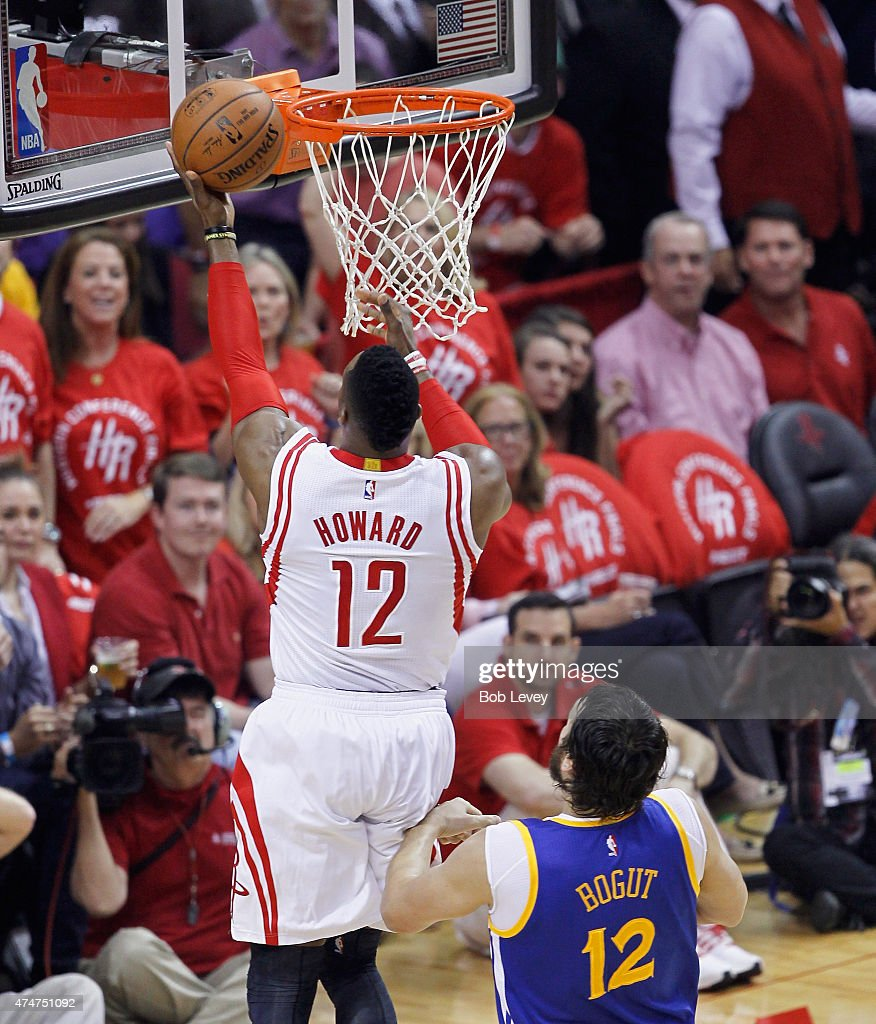 Houston Rockets News Today: Dwight Howard Of The Houston Rockets Drives Around Andrew