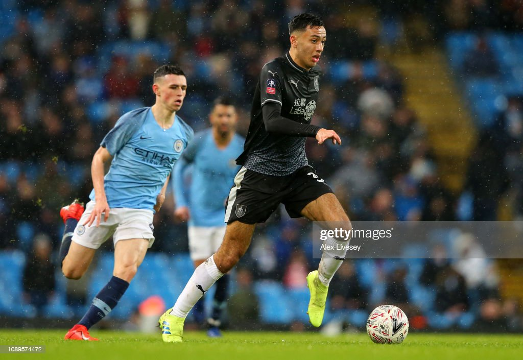 Manchester City v Burnley - FA Cup Fourth Round : News Photo