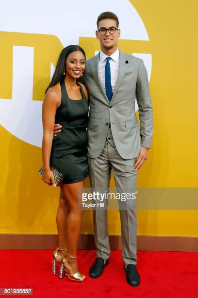 Dwight Powell attends the 2017 NBA Awards at Basketball City Pier 36 South Street on June 26 2017 in New York City