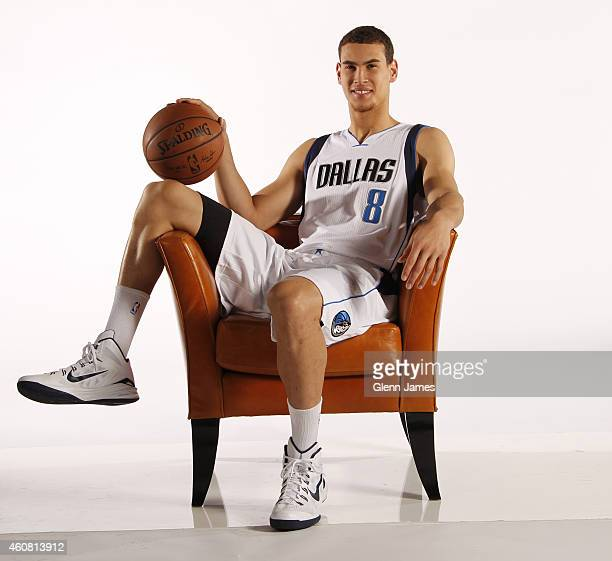 Dwight Powell poses for a photo during the Dallas Mavericks 20142015 Media Day on December 22 2014 at the American Airlines Center in Dallas Texas...