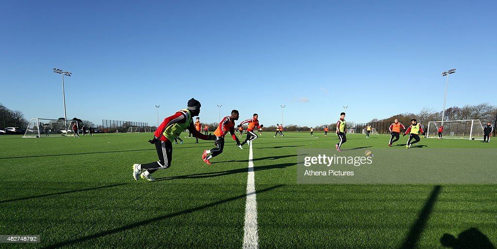 Swansea City Training Session