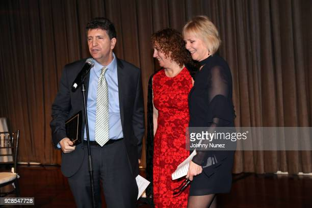 Dwight Yellen Judy Levine and Church Street School for Music and Art Executive Director Lisa EcklundFlores attend the 2018 Church Street School 'The...