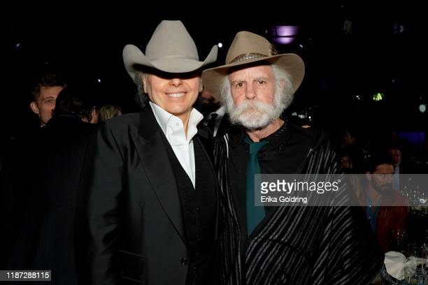 Dwight Yoakam and Bob Weir attend BMI presents Dwight Yoakam with President's Award at 67th Annual Country Awards Dinner at BMI on November 12 2019...