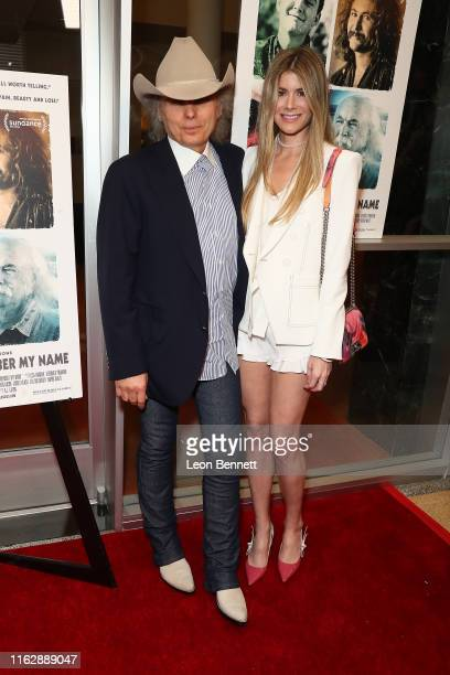 Dwight Yoakam and Emily Joyce attend Premiere Of Sony Pictures Classic's David Crosby Remember My Name at Linwood Dunn Theater on July 18 2019 in Los...