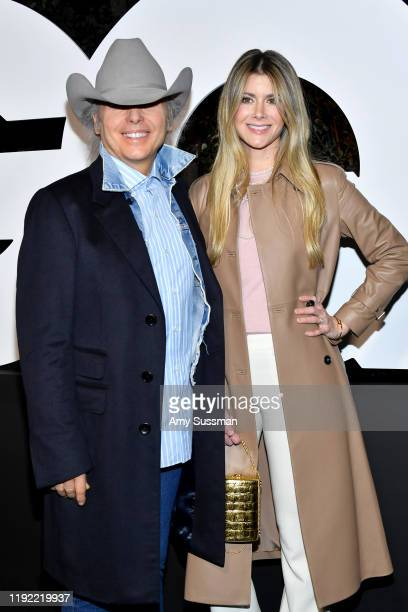 Dwight Yoakam and Emily Joyce attend the 2019 GQ Men of the Year at The West Hollywood Edition on December 05 2019 in West Hollywood California