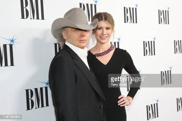 Dwight Yoakam and Emily Joyce attend the 67th Annual BMI Awards at BMI on November 12 2019 in Nashville Tennessee