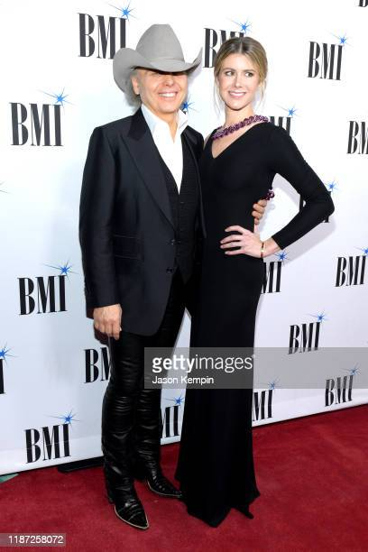 Dwight Yoakam and Emily Joyce attend the 67th Annual BMI Country Awards at BMI on November 12 2019 in Nashville Tennessee