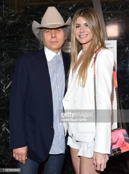 Dwight Yoakam and Emily Joyce attend the premiere of Sony Pictures Classic's David Crosby Remember My Name at Linwood Dunn Theater on July 18 2019 in...