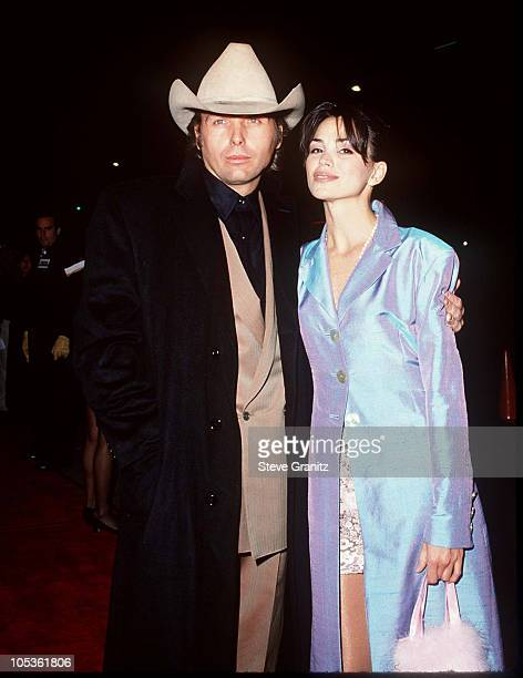 Dwight Yoakam Karen Duffy during Dumb and Dumber Hollywood Premiere at Cinerama Dome Theater in Hollywood California United States
