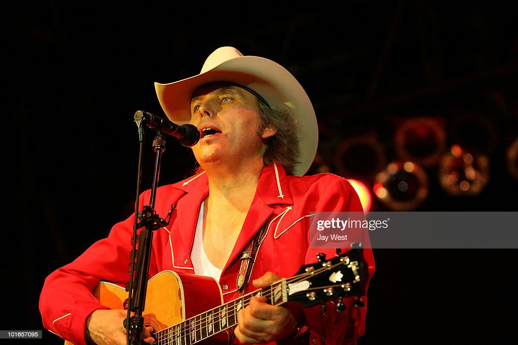 Dwight Yoakam performs at Nutty Brown Cafe Amphitheater on June 5, 2010 in Austin, Texas.