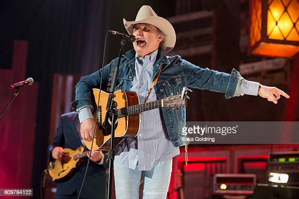 Dwight Yoakam performs at Ryman Auditorium on September 21 2016 in Nashville Tennessee