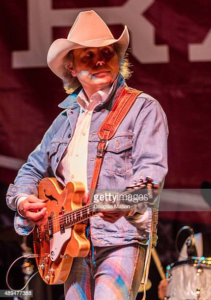 Dwight Yoakam performs during the FreshGrass Bluegrass Festival 2015 at MASS MoCA in North Adams Massachusetts on September 19 2015