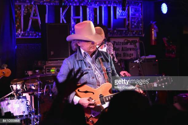 Dwight Yoakam performs for SiriusXM in the Hamptons at the Stephen Talkhouse Performance Airs Live On SiriusXM on August 30 2017 in Amagansett New...