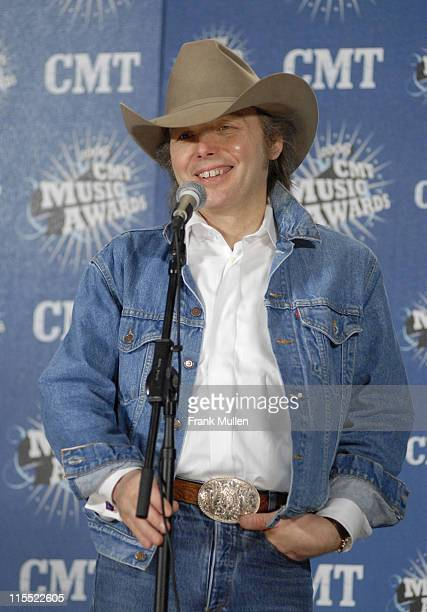 Dwight Yoakam, presenter Buck Owens Tribute during 2006 CMT Music Awards - Press Room at Curb Event Center at Belmont University in Nashville,...