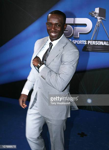 Dwight Yorke arrives at BBC Sports Personality Awards on December 19 2010 in Birmingham England