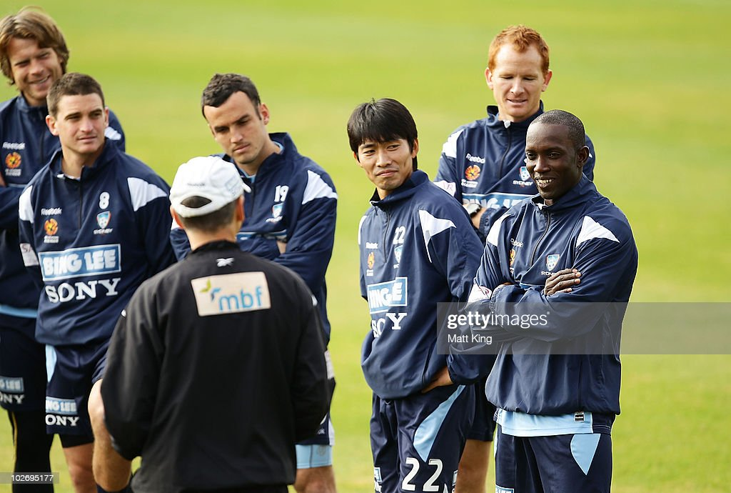 Sydney FC Training Session