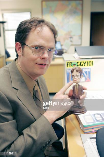 THE OFFICE Dwight's Speech Episode 17 Aired Pictured Rainn Wilson as Dwight Schrute Photo by Chris Haston/NBCU Photo Bank