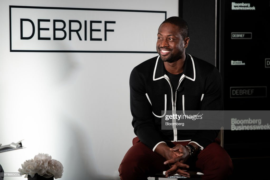 Miami Heat NBA Basketball Player Dwayne Wade Discusses Business Ventures