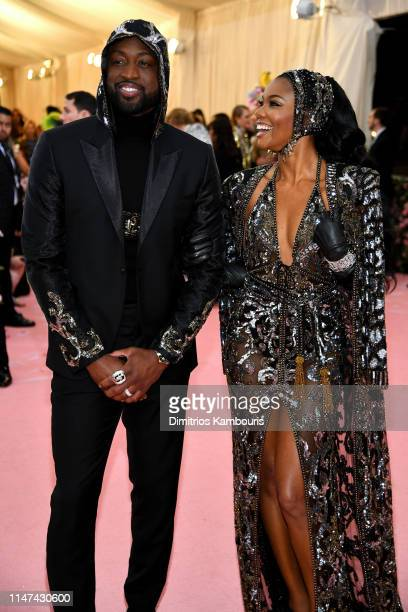 Dwyane Wade And Gabrielle Union attend The 2019 Met Gala Celebrating Camp Notes on Fashion at Metropolitan Museum of Art on May 06 2019 in New York...