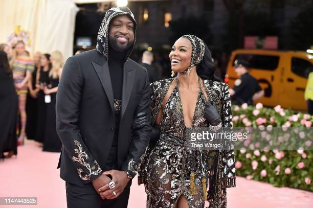 Dwyane Wade and Gabrielle Union attends The 2019 Met Gala Celebrating Camp: Notes on Fashion at Metropolitan Museum of Art on May 06, 2019 in New...