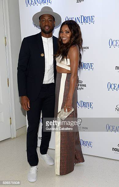 Dwyane Wade and Gabrielle Union attends the Ocean Drive Magazine Celebrates its May/June Issue with cover star Gabrielle Union at The Nautilus SIXTY...