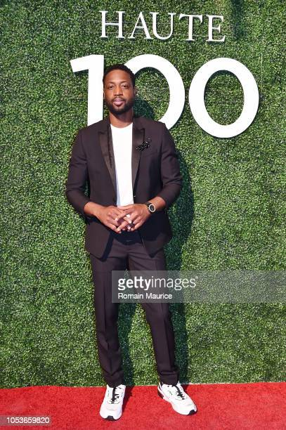 Dwyane Wade attends Haute Living's Haute 100 10th Anniversary Party at Swan Miami on October 25 2018 in Miami Florida