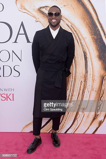 Dwyane Wade attends the 2016 CFDA Fashion Awards at the Hammerstein Ballroom on June 6 2016 in New York City