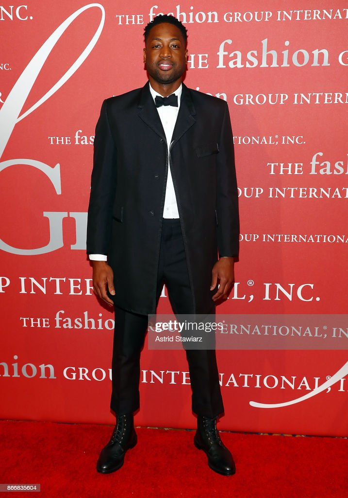 Dwayne Wade attends the 2017 FGI Night Of Stars Modern Voices gala at Cipriani Wall Street on October 26, 2017 in New York City.