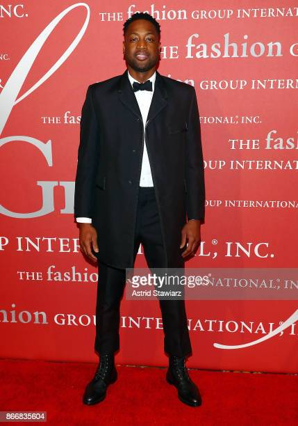 Dwayne Wade attends the 2017 FGI Night Of Stars Modern Voices gala at Cipriani Wall Street on October 26 2017 in New York City