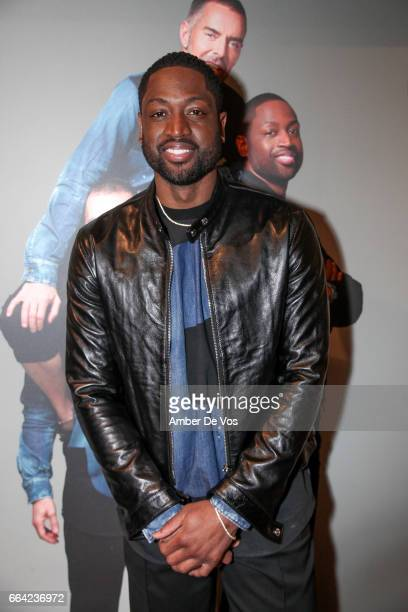 Dwyane Wade attends the Exclusive Launch of the Dsquared2 x Dwyane Wade Capsule Collection at Saks Fifth Avenue on April 3, 2017 in New York City.