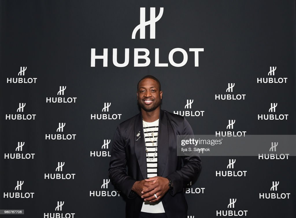 Hublot And Dwyane Wade Host Viewing Party For The 2018 NBA Draft