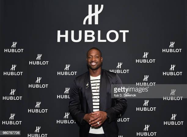 Dwyane Wade attends the Hublot and Dwyane Wade viewing party for the 2018 NBA Draft at Spring Place on June 21 2018 in New York City