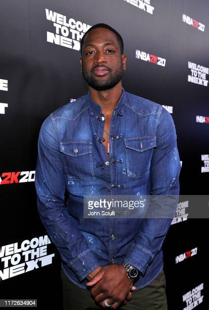 Dwyane Wade attends the NBA 2K20: Welcome to the Next on September 05, 2019 in Los Angeles, California.