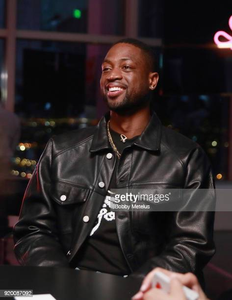 Dwyane Wade is seen at Stance Spades Tournament during NBA All-Star Weekend on February 18, 2018 in Los Angeles, California.
