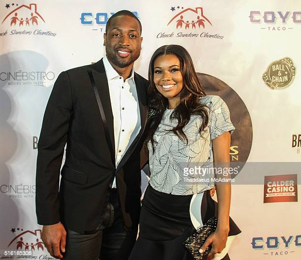 Dwyane Wade Jr and Gaberielle Union attends the ProPops Foundations 10th Anniversary Fundraiser hosted by CEO and founder Dwyane Wade Sr and Dwyane...