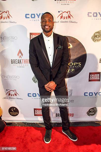 Dwyane Wade Jr attends the ProPops Foundations 10th Anniversary Fundraiser hosted by CEO and founder Dwyane Wade Sr and Dwyane Wade Jr on March 16...