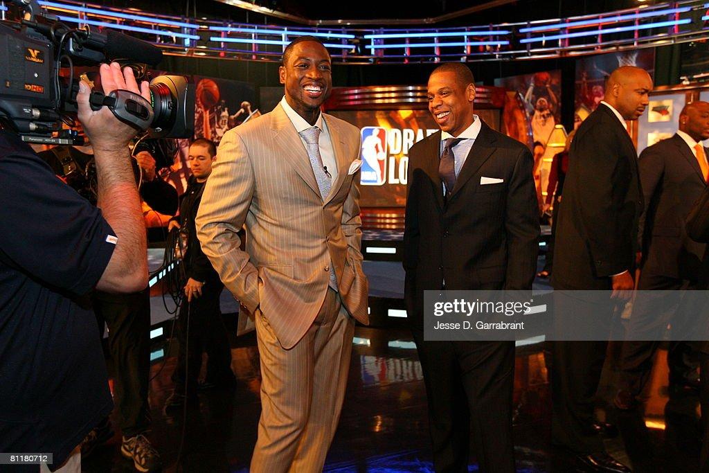 2008 NBA Draft Lottery : News Photo